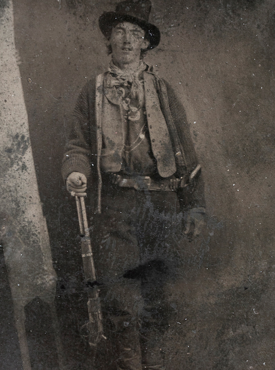 The Original Billy the Kid tintype photograph 1879-90. (Photo Credit: public domain)